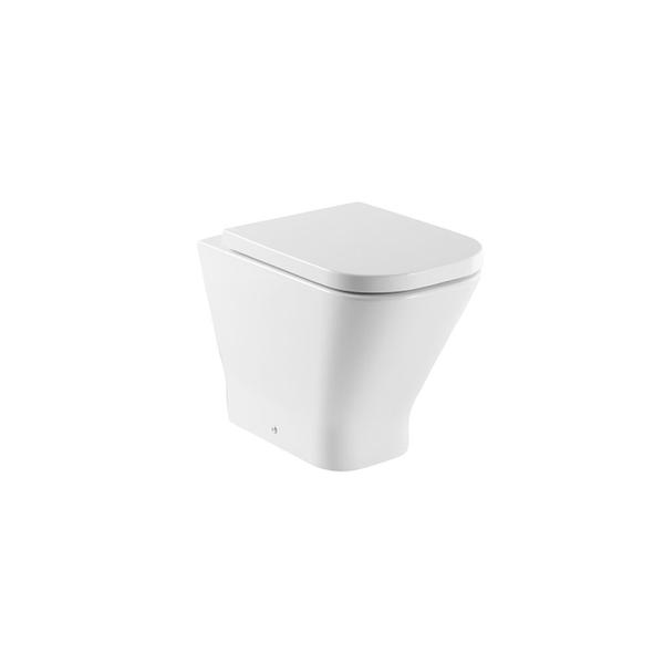 Roca The Gap A34747C00U Comfort Height Back to Wall Pan