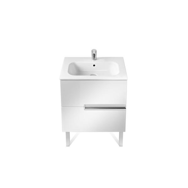 Roca Victoria-N A855833806 700mm Basin Unit and Basin Pack Gloss White