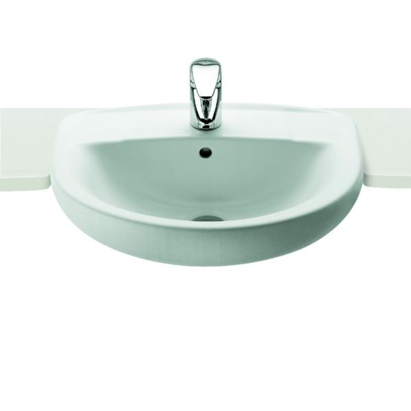 Roca Laura A32739E000 510mm 1 Tap Hole Semi Countertop Basin