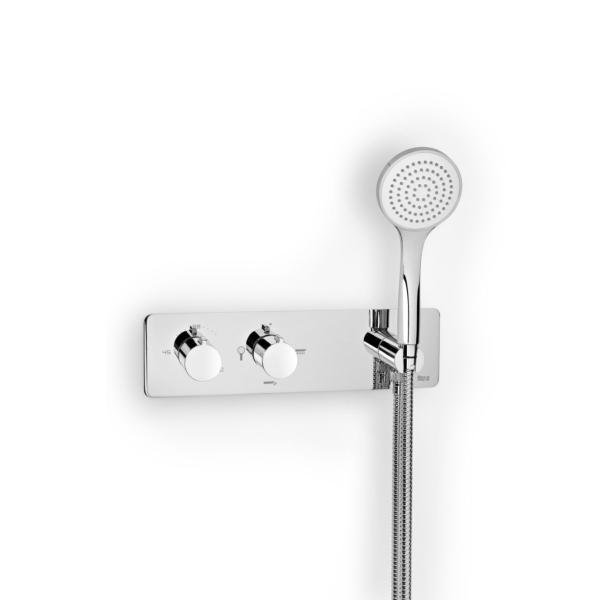 Roca Puzzle A5A2805C00 Thermostatic Built In Shower Mixer with 3 Way Diverter