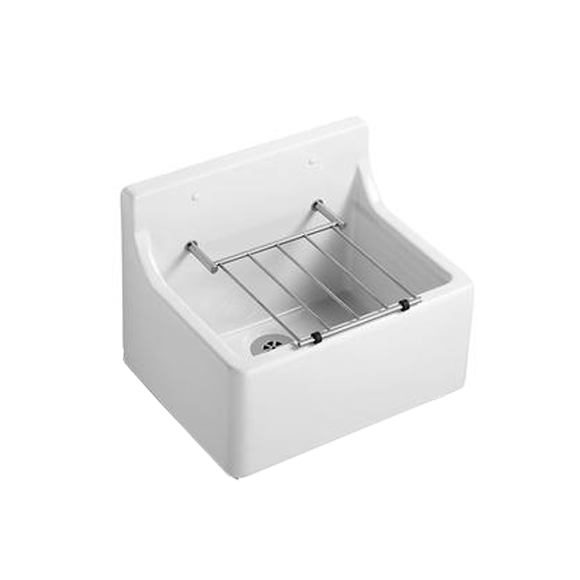 Armitage Shanks S592001 Birch 510mm Sink, Pad & Grating White