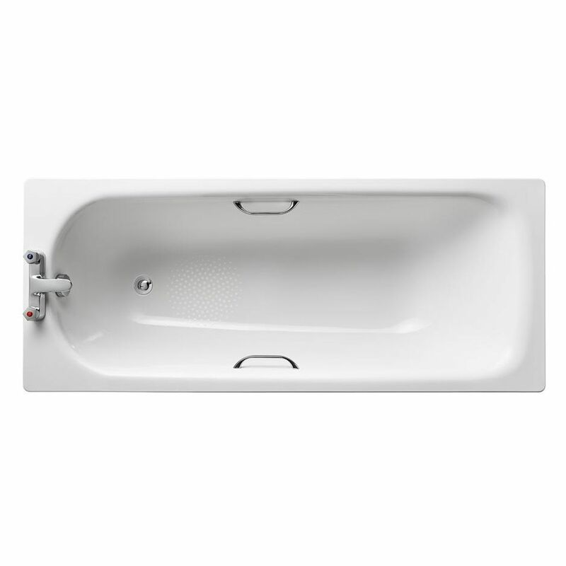 Armitage Shanks   Sandringham 21   S183501   2 Tap Hole   Rectangular Bath