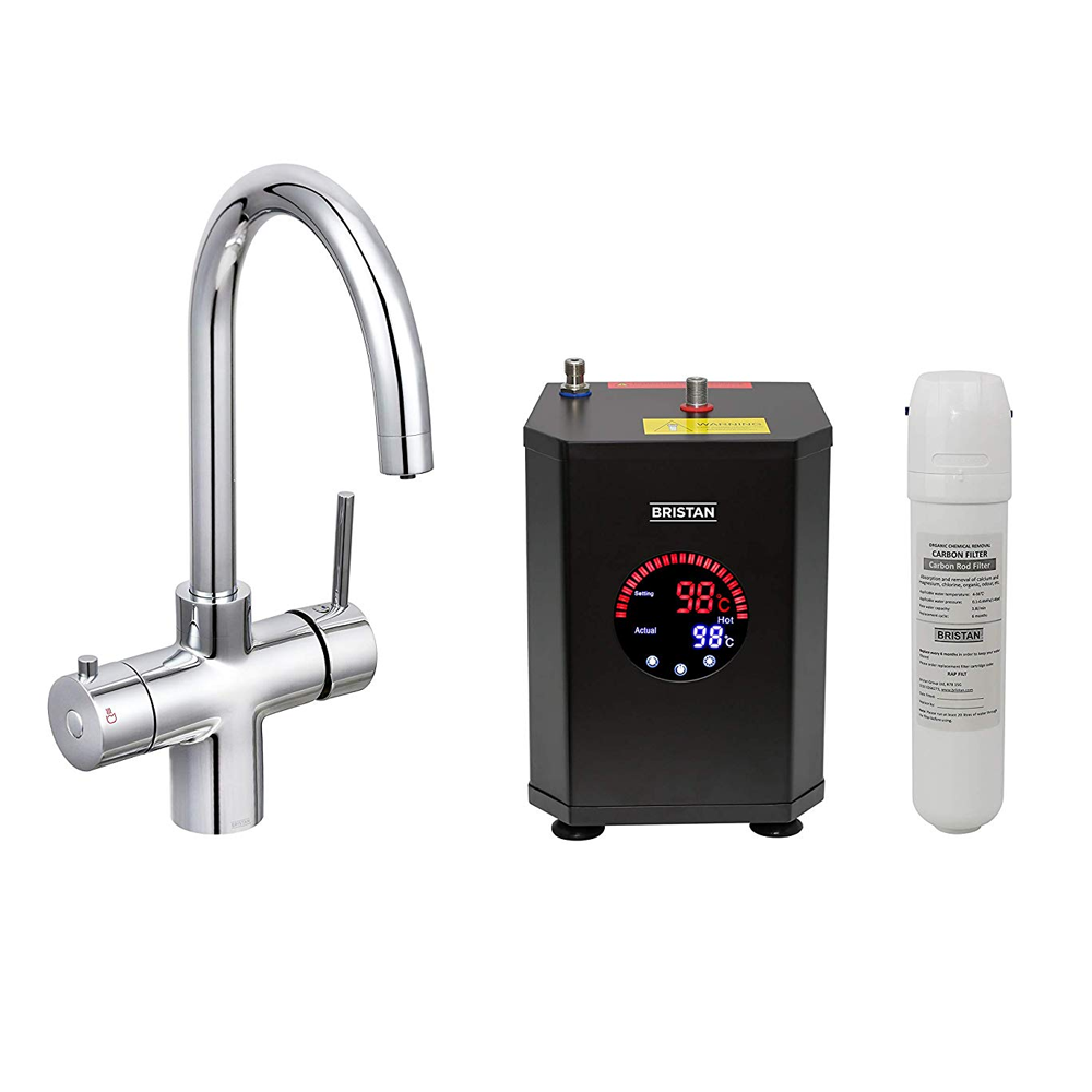 Bristan | Rapid | GLL RAPSNK3 C | 3in1 Boiling Water Tap