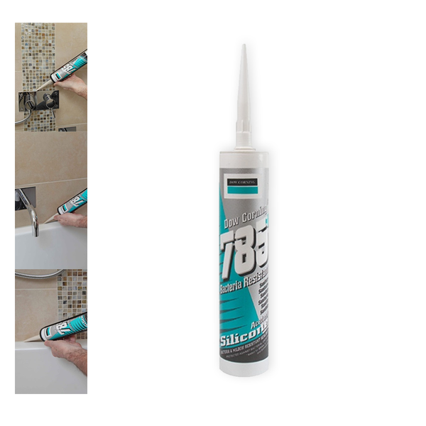Dow Corning 785+ Bacteria Resistant Sanitary Silicone Sealant