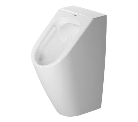 Duravit Me By Starck 2809300000 Rimless Urinal with Concealed Inlet