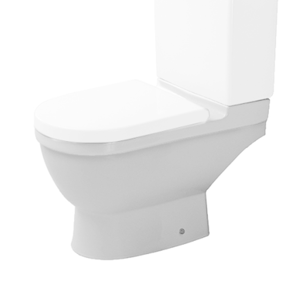 Duravit Starck 3 012609 Close Coupled Pan Ho Comes With Fixings White