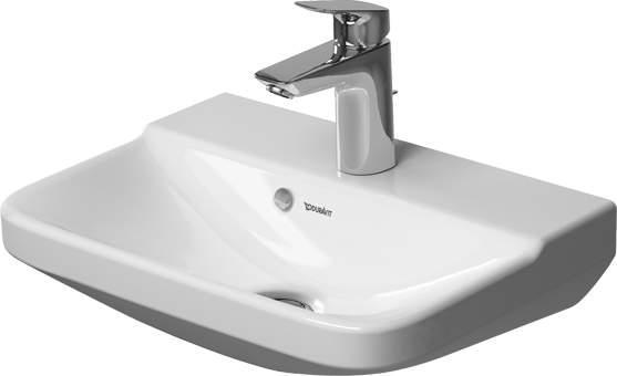 Duravit P3 Comforts 071645 450 x 320mm 1 Tap Hole Cloakroom Basin