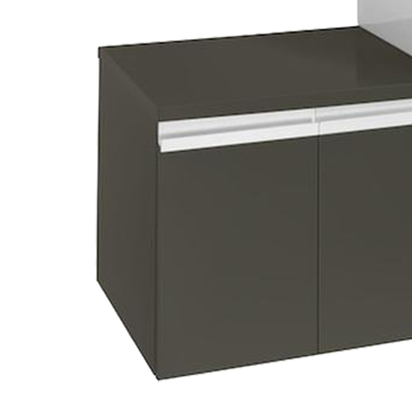 Roca Heima 856915371 300mm Basin Unit Matt Grey