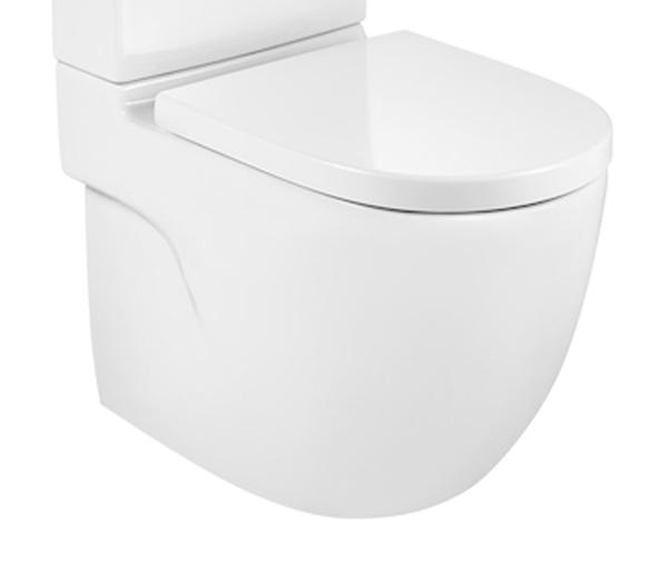 Roca Meridian-N A342248000 Close Coupled Back to Wall Pan