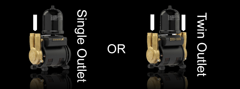 Twin or Single outlet?