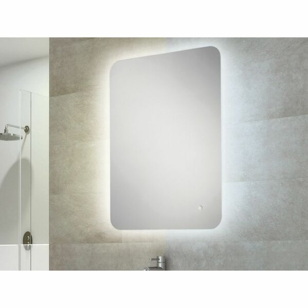 HIB Ambience 79100000 700 x 500mm Rectangular Steam Free Colour Changing LED Lit Mirror