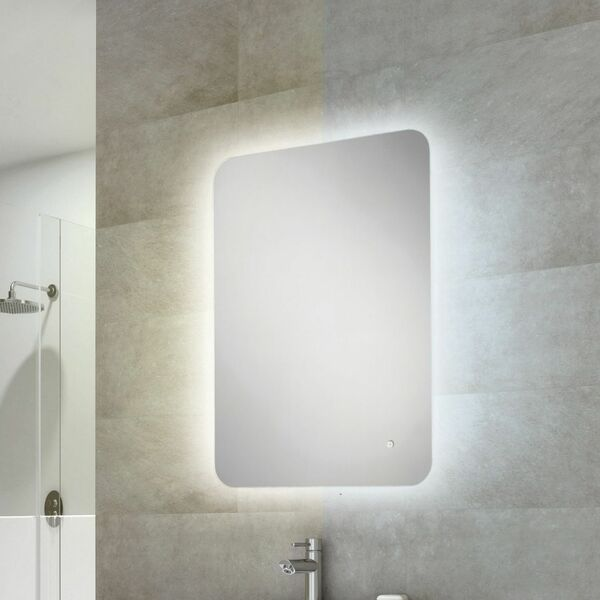 HIB Ambience 79200000 800 x 600mm Rectangular Steam Free Colour Changing LED Lit Mirror