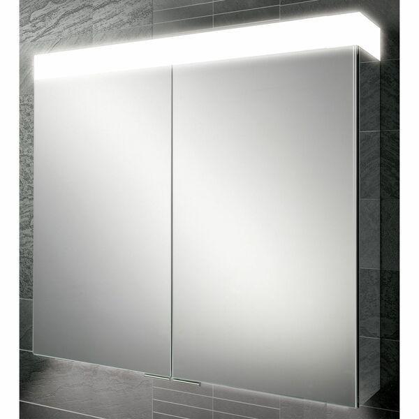 HIB Apex 47100 750 x 600mm LED Mirrored Cabinet