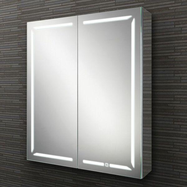 HIB Groove 48500 700 x 600mm LED Bluetooth Mirrored Cabinet
