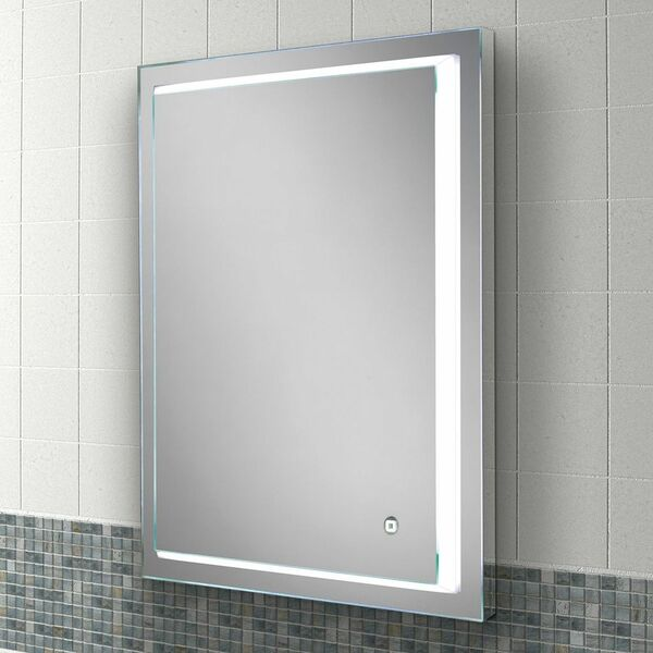 HIB Spectre 79520000 800 x 600mm Rectangular Steam Free Colour Changing LED Lit Mirror