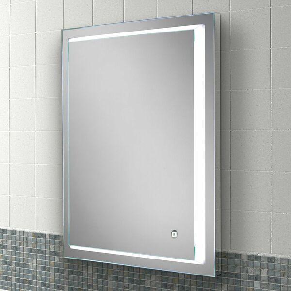 HIB Spectre 79520000 800 x 600mm Rectangular Steam Free Colour Changing LED Lit Mirror