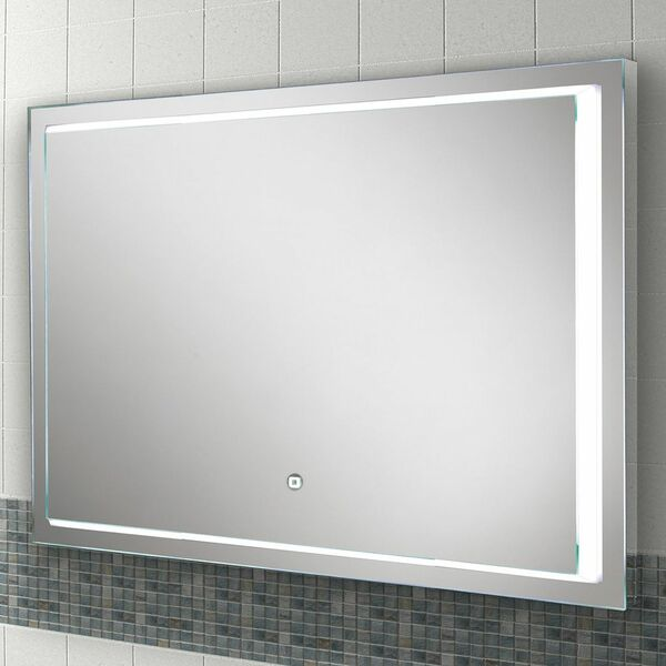HIB Spectre 79530000 600 x 1000mm Rectangular Steam Free Colour Changing LED Lit Mirror