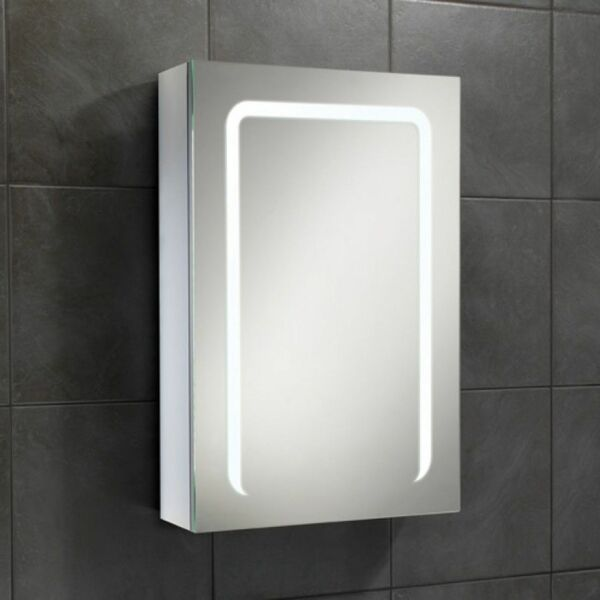 HIB Stratus 46800 700 x 500mm Steam Free LED Mirrored Cabinet