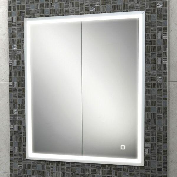 HIB Vanquish 47700 730 x 630mm Recessed Mirrored Cabinet