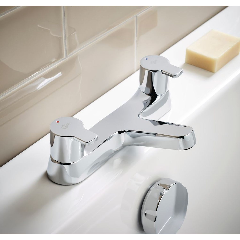 Ideal Standard | Calista | B1151AA | Dual Control Bath Filler | Lifestyle