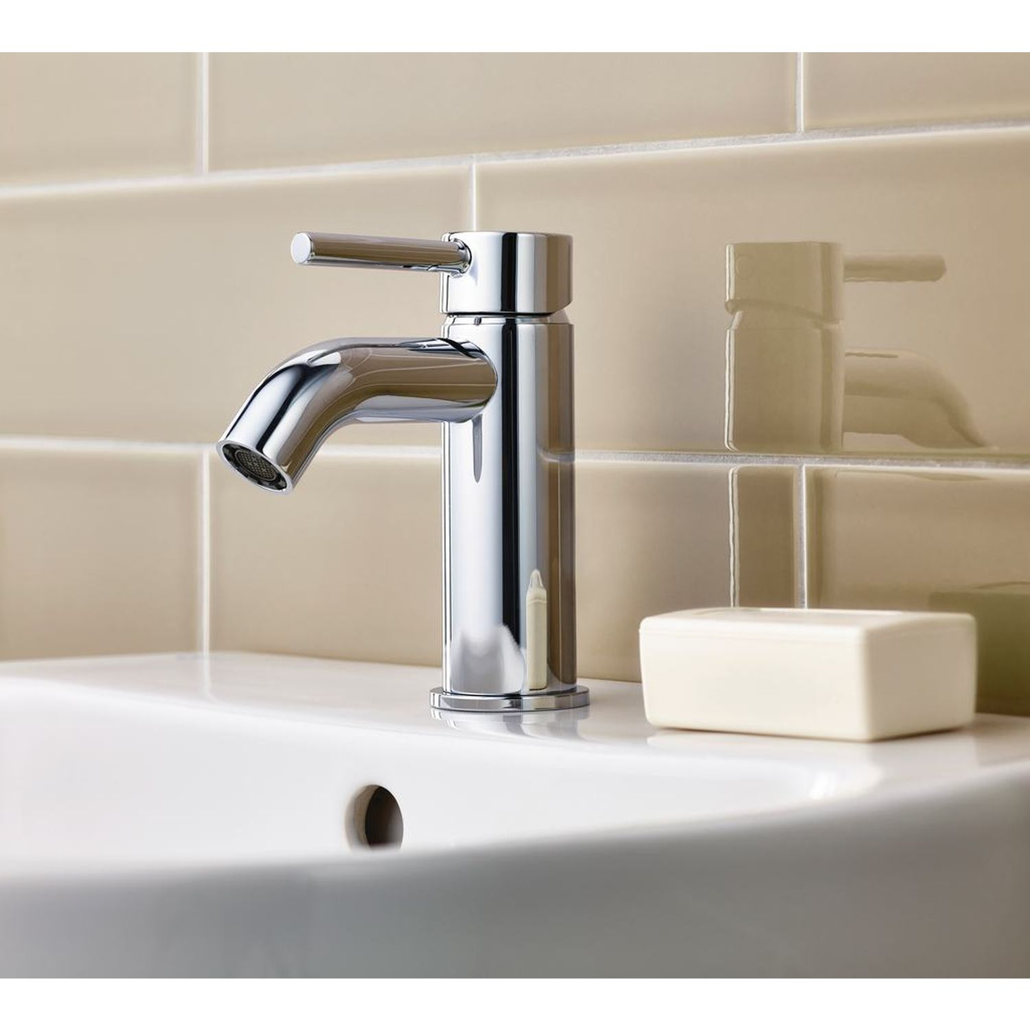 Ideal Standard | Ceraline | BC186AA | Basin Mixer | Lifestyle