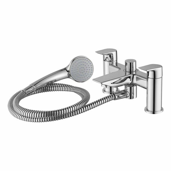 Ideal Standard Tesi A6591AA Dual Control Bath Shower Mixer With Shower Set