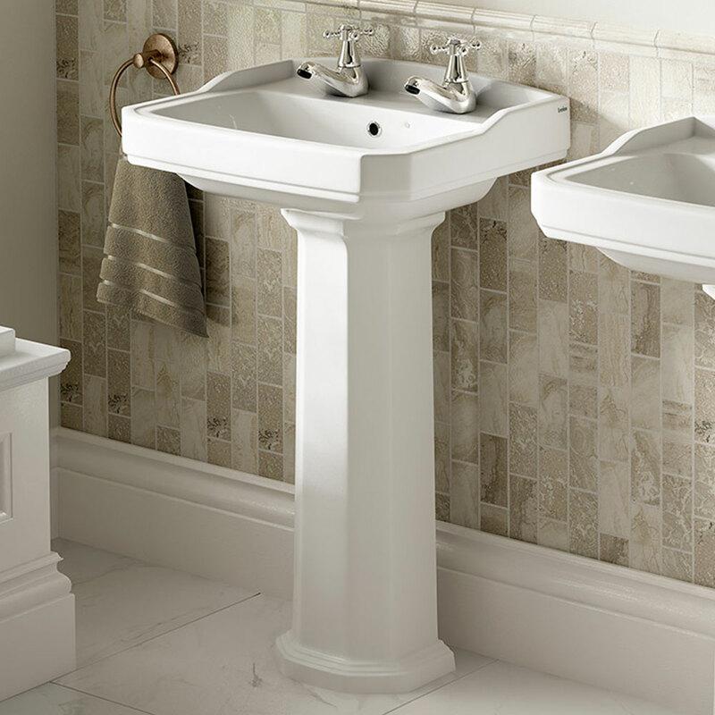 Lecico | Classic Series | CS53BA2SET | Basin + Pedestal