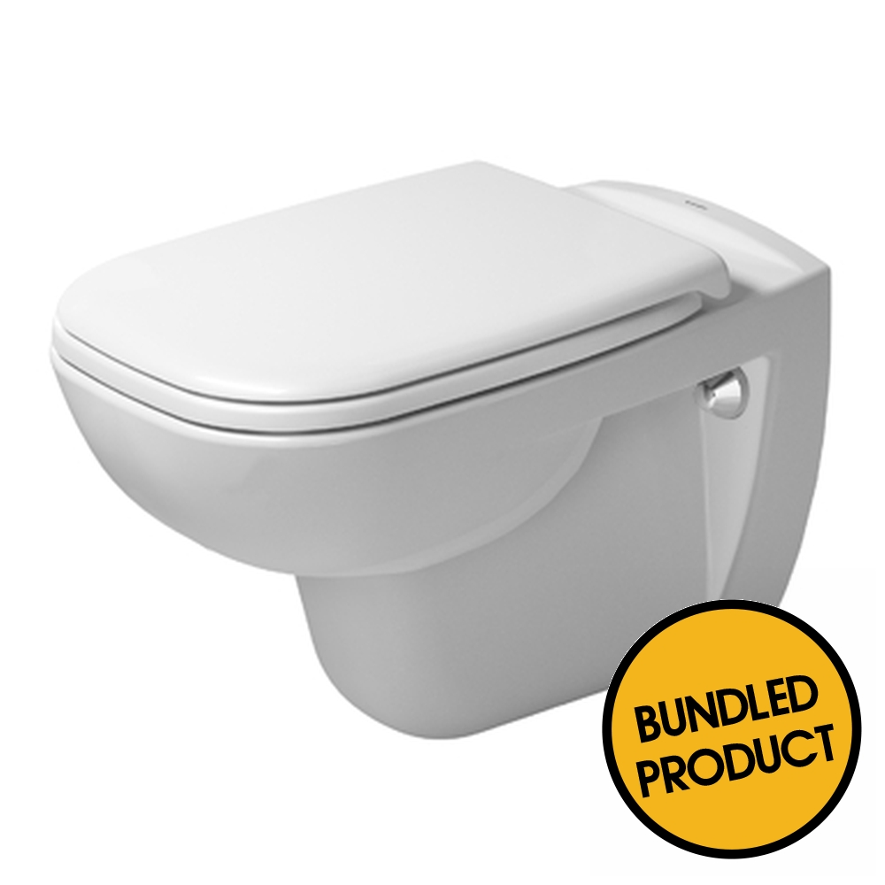 Duravit D Code Wall Hung Toilet - QKIT00014