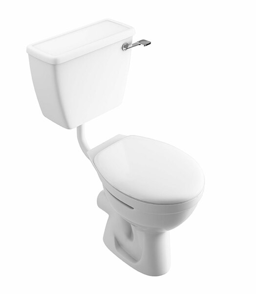 Lecico Atlas COMFLLWC Close Coupled Low Level Lever Toilet
