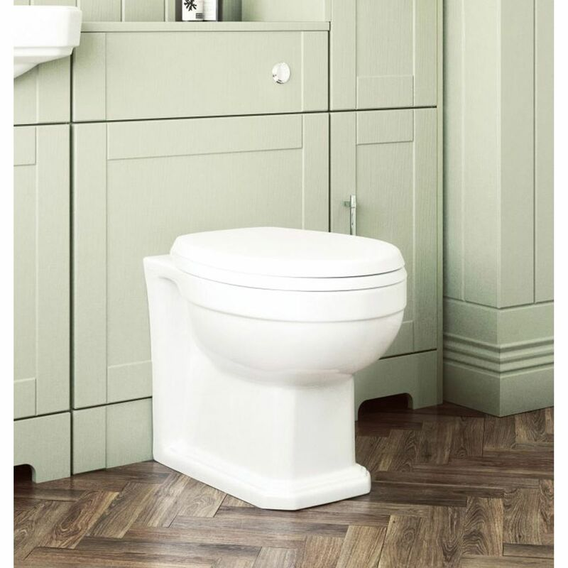 Lecico   Classic Series   CSBTWPAN   Toilet Pan
