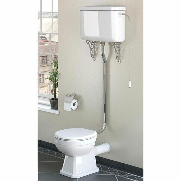 Lecico Classic Series CSHLWCSETSC High Level Toilet