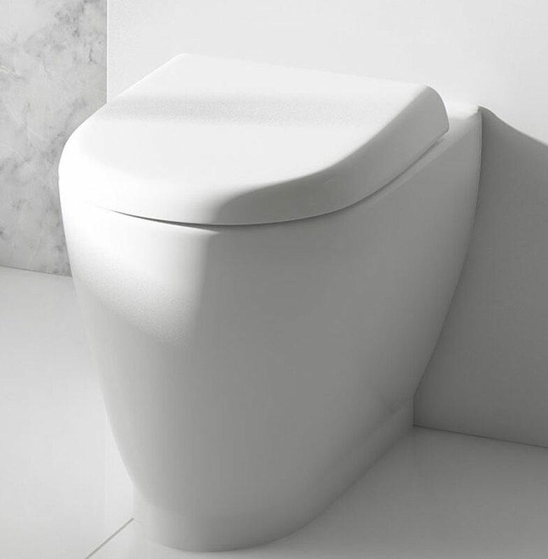 Lecico   Designer Series 4   DS4BTWPAN   Toilet Pan