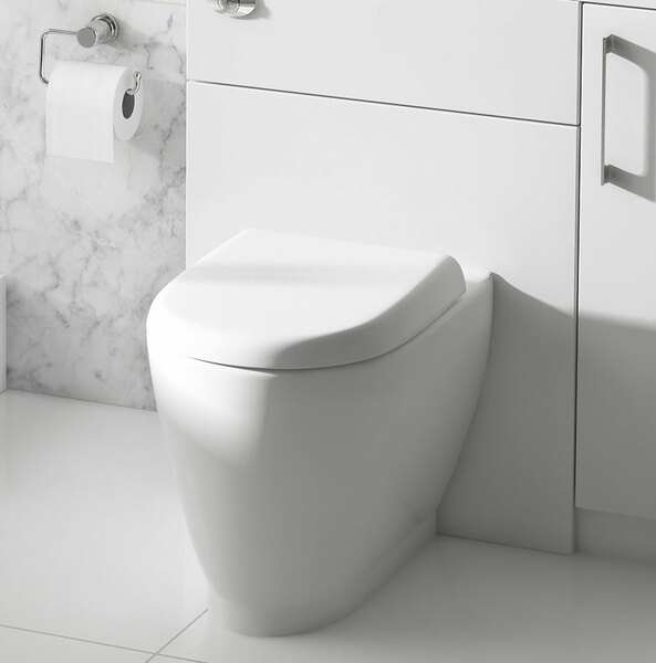 Lecico Designer Series 4 DS4BTWSETSC Back to Wall Toilet
