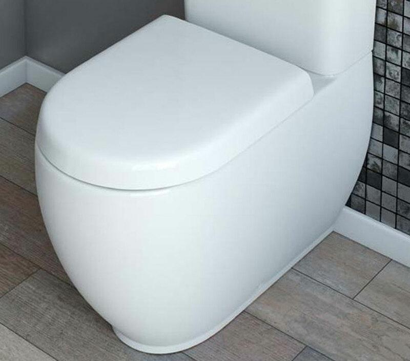 Lecico   Designer Series 4   DS4MCCNPA   Toilet Pan