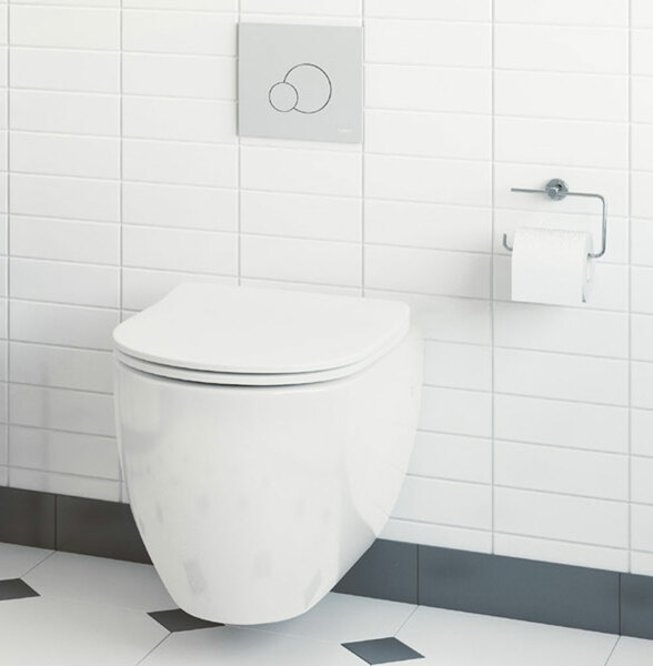 Lecico Designer Series 4 DS4WHNGSETSC Wall Hung Toilet