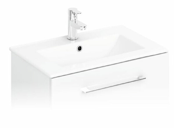 Lecico Design Series SLBASINLGE 800mm 1 Tap Hole Slim Basin