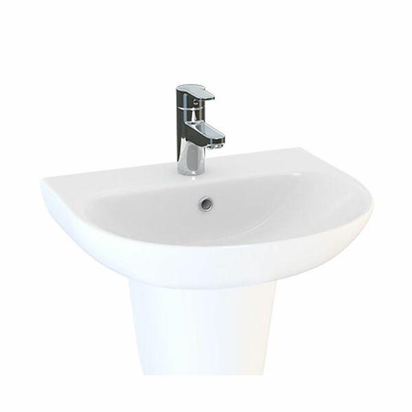 Lecico Designer Series 5 DS545BA2BX 450mm 2 Tap Hole Basin