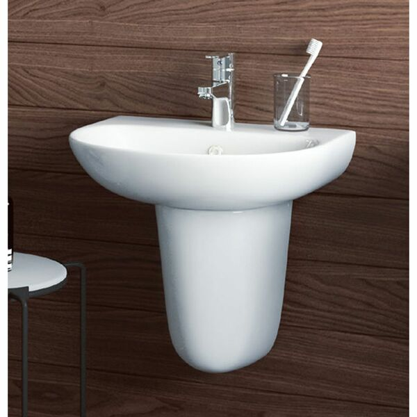 Lecico Designer Series 5 DS555BA2BX 550mm 2 Tap Hole Basin