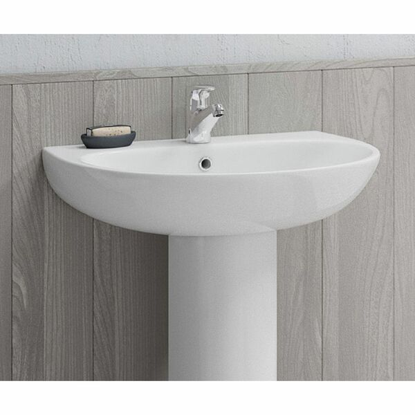 Lecico Designer Series 5 DS560BA1BX 600mm 1 Tap Hole Basin