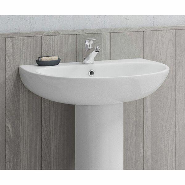 Lecico Designer Series 5 DS560BA2BX 600mm 2 Tap Hole Basin