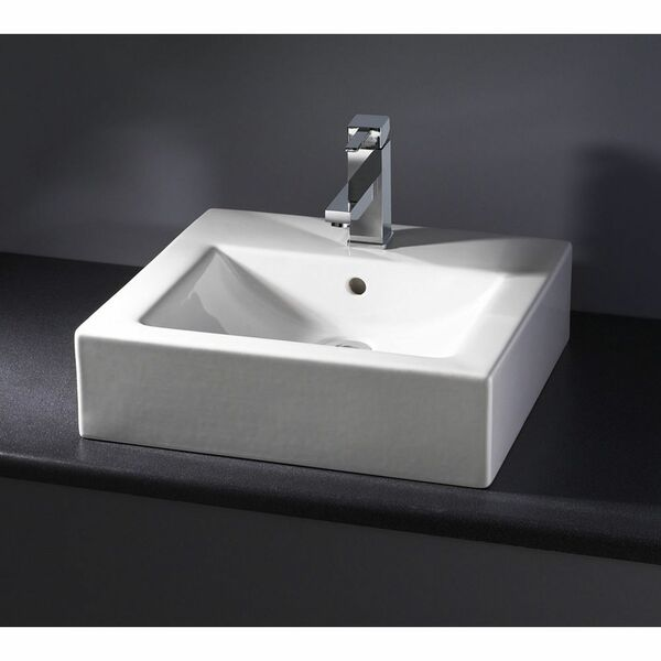 Lecico Steps FSBVWB47 463mm 1 Tap Hole Countertop Basin
