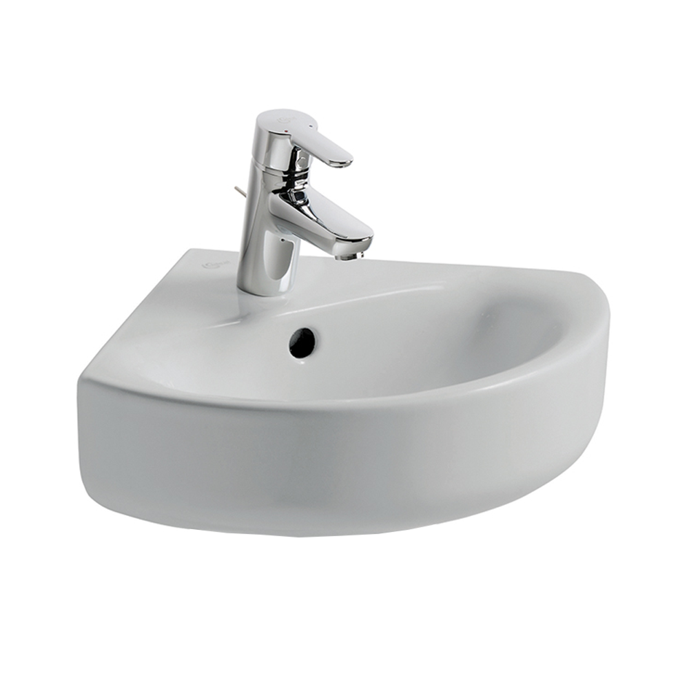 Ideal Standard Concept E792801 450x440 1 Tap Hole Cloakroom Basin