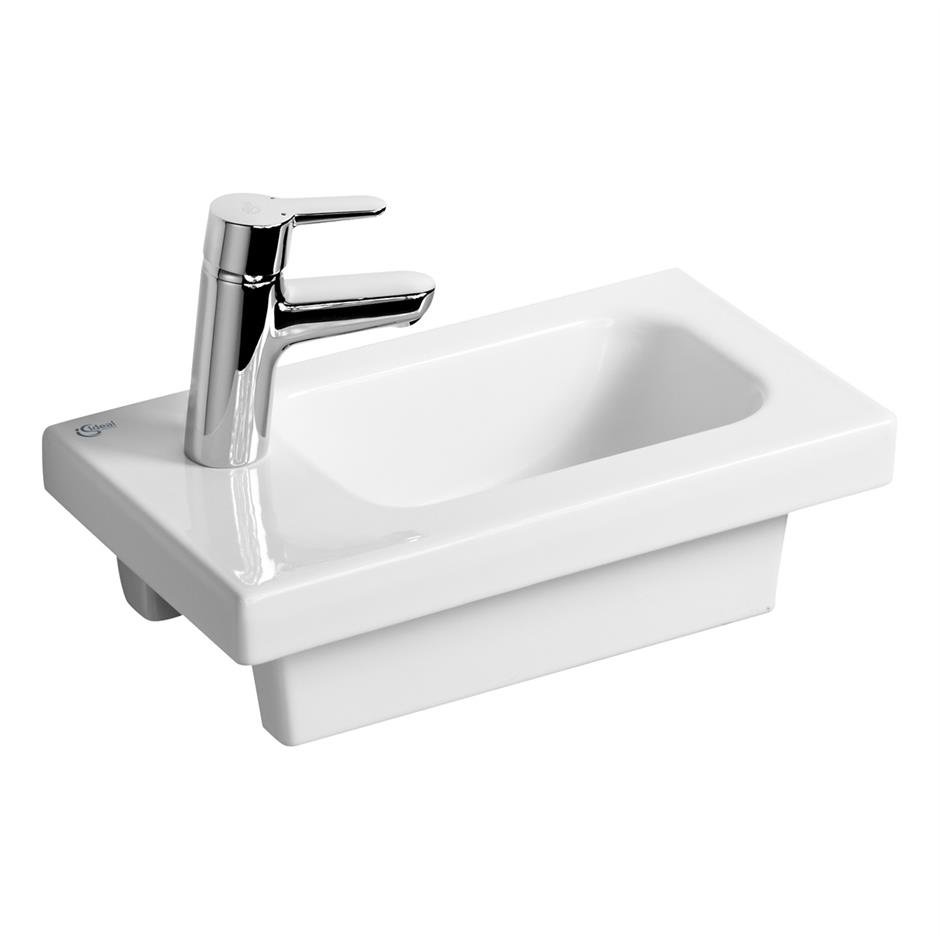 Ideal Standard Concept Space E133501 450x250 1 Tap Hole Cloakroom Basin