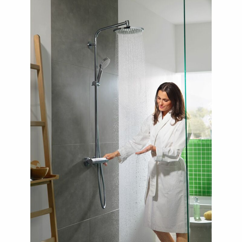 hansgrohe   Crometta S   27267000   Multiple   Complete Shower   Feature 1
