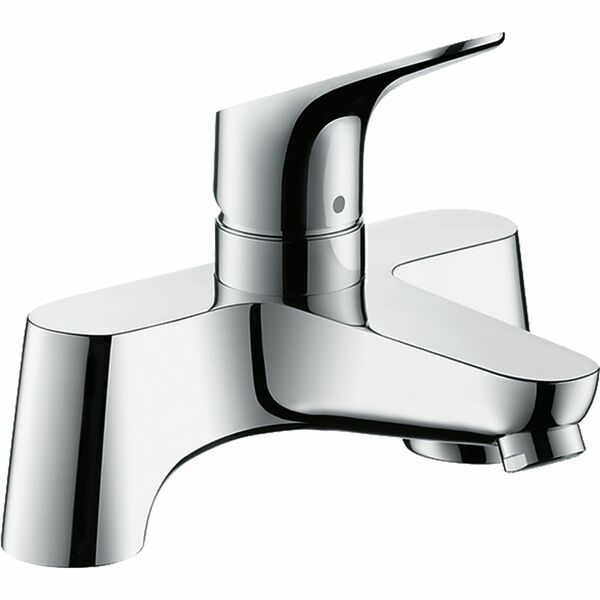 hansgrohe Focus 31523000 2-hole rim-mounted manual single lever bath mixer LowPressure min. 0.2 bar