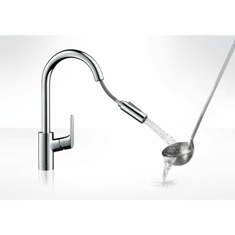 hansgrohe | Focus | 31815000 | Kitchen Sink Mixer | Feature 1