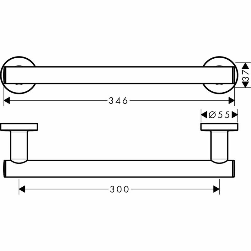 hansgrohe | Logis Universal | 41713000 | Doc M Component | Technical Drawing