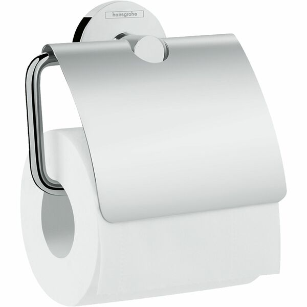 hansgrohe Logis Universal 41723000 Toilet roll holder with cover