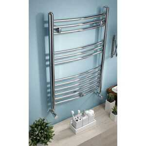 Kartell Curved 22 Towel Rail 400 x 1200 White