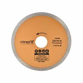 Vitrex 103409 110mm Diamond Blade Standard